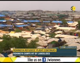 WION Dispatch: Rohingya refugees' plight continues; Rohingya camps hit by landslides