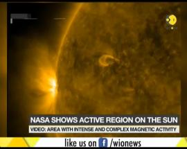 Video: Watch the most active region on the sun