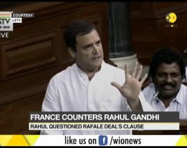 Rahul Gandhi questions India's Rafale deal with France