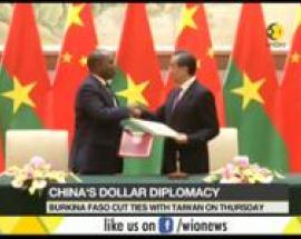 China signs agreement with Burkina Faso; establish diplomatic ties