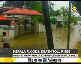Rains hits Kerala again, death toll rises to 67