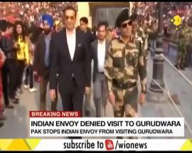 Breaking News: Pakistan stops Indian envoy from visiting Gurudwara