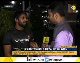 Asian Games 2018: Bajrang Punia clinches first gold for India in freestyle wrestling
