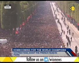 WION Gravitas: Homecoming for the World Champions; excited fans await the French team in Paris