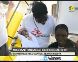 "A baby boy named ""Miracle"" born on rescue ship MV Aquarius"