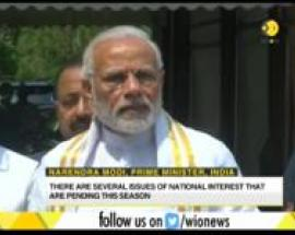 PM Modi requests the parties and the MP's to cooperate and participate with the government