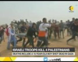 Israel Gaza unrest intensifies as Israeli troops kill 4 Palestinians on Gaza border
