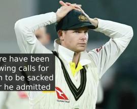 Steve Smith steps down as Australia captain over ball-tampering row