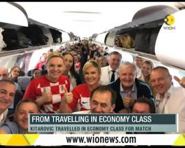 WION Fineprint: Croatia President wins admirers; Kitarovic travelled in economy class for match