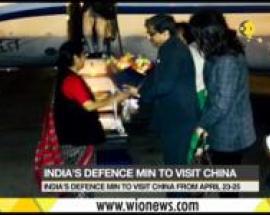 Sushma Swaraj arrives in China for talks with Wang Yi, SCO meet