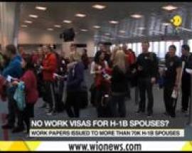 No work permits visas for H-1B spouses