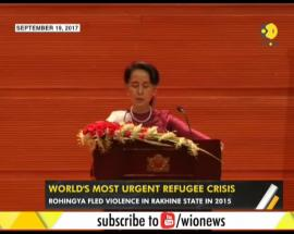 WION Gravitas: Rohignya refugees with nowhere to go; Myanmar Leader criticised on handling of issue