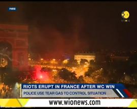 WION Fineprint: French celebrations turn violent as fans clash with Police in Paris