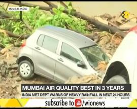 WION Dispatch: 4 dead as heavy rains wreck havoc in Mumbai