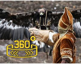 360 WION: Fly with Golden Eagles of Kazakhstan