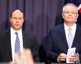 Scott Morrison sworn-in as Australian prime minister