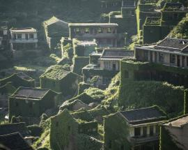 Watch: China's 'little Switzerland' abandoned
