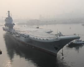 China's first domestically manufactured aircraft carrier