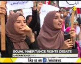 Proposal for equal inheritance right in Tunisia