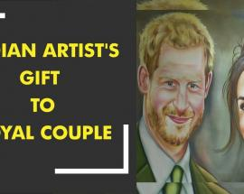 Indian artist to gift painting to royal couple