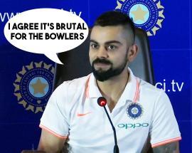 Indian skipper Kohli says two new-ball ODI rule brutal for bowlers