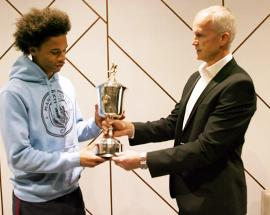 Manchester City's Leroy Sane wins PFA's Young Player of the Year award