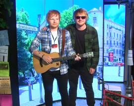 Two Ed Sheerans, but none of them the real one