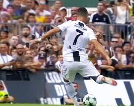 Ronaldo stars in friendly on Juventus debut