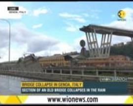 WION Dispatch: Ten dead in bridge collapse in Genoa, Italy