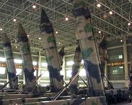 Watch: China's rocket force commissions new ballistic missile