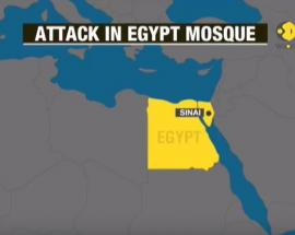 Mosque attack in Egypt