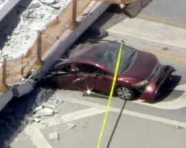 Bridge collapse in Florida
