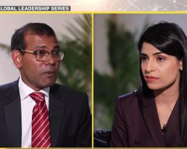 Global Leadership Series: WION interviews Mohamed Nasheed
