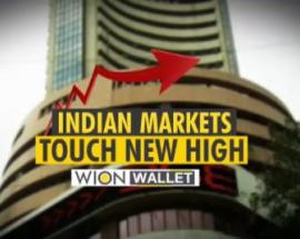 Indian market touches new high and more (WION Wallet)