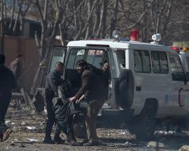 Kabul massive suicide bomb explosion