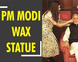 Prime Minister Modi's gets wax statue at Madame Tussauds
