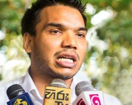 Namal Rajapaksa speaks to WION
