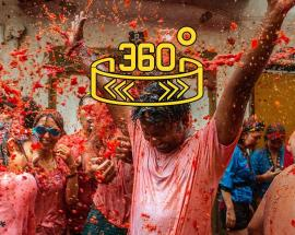 360 WION: La Tomatina- the world?s largest food fight!