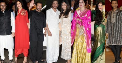 Mukesh and Nita Ambani's Ganesh Chaturthi party is full house with Salman, SRK, Rekha, Amitabh, Kareena, Aamir & others