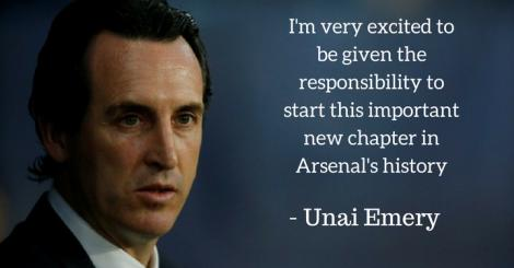All you need to know about new Arsenal boss Unai Emery