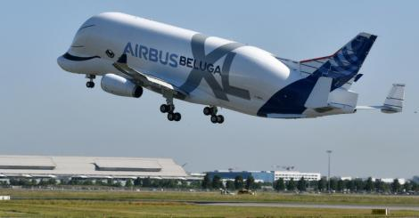 Airbus fetes first flight of its new 'whale in the sky'