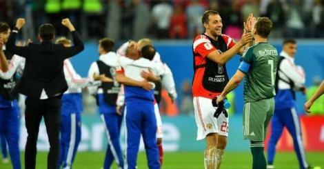 In pictures: Host Russia all but qualify for knockout stage with win over Mo Salah's Egypt in FIFA World Cup 2018