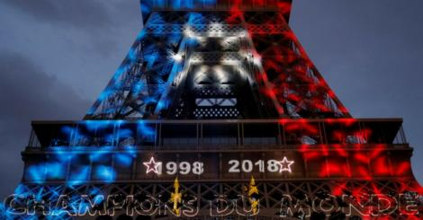 In pics: Fans in Paris go wild after thrilling World Cup victory