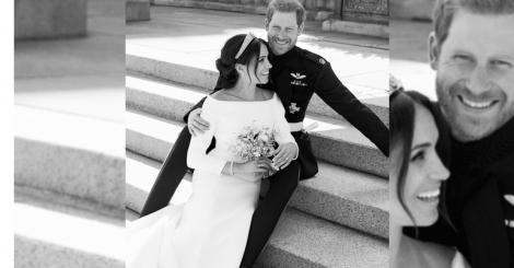 When Harry wed Meghan: Duke & Duchess of Sussex release official wedding portraits