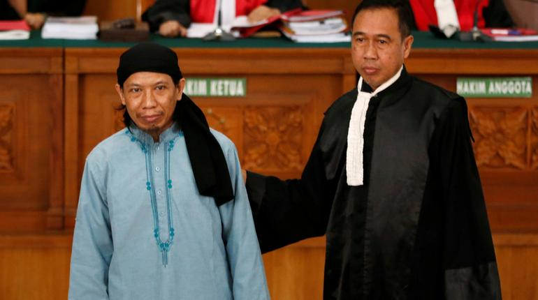 Indonesia cleric linked to Islamic State gets death sentence for militant attacks