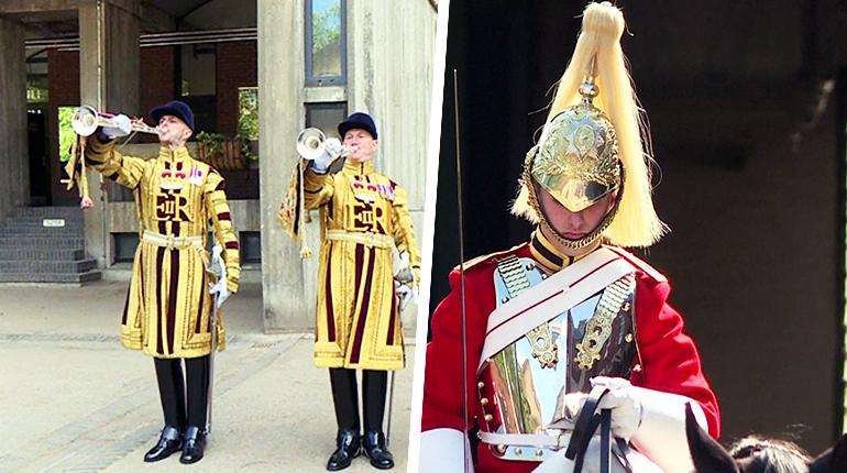 Fanfares and final touches as cavalry prepares for royal wedding